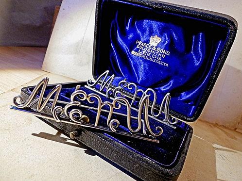 Victorian Silver Menu Holders