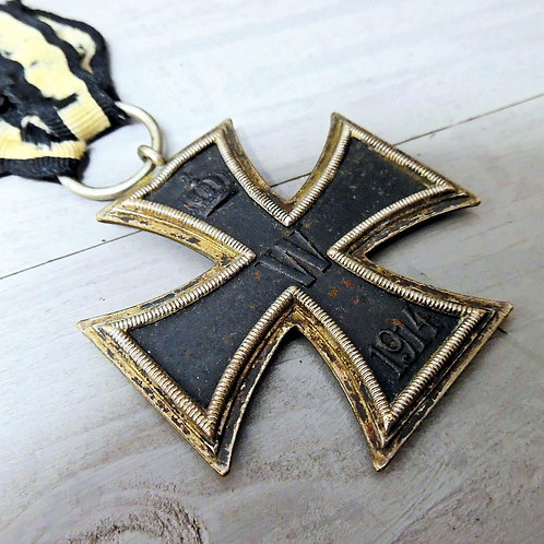 WWI Iron Cross & Wound Badge