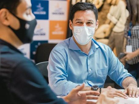 Para aumentar exportações de AL, Rodrigo Cunha apoia comércio entre empresas alagoanas e a China