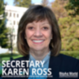 Secretary Karen Ross
