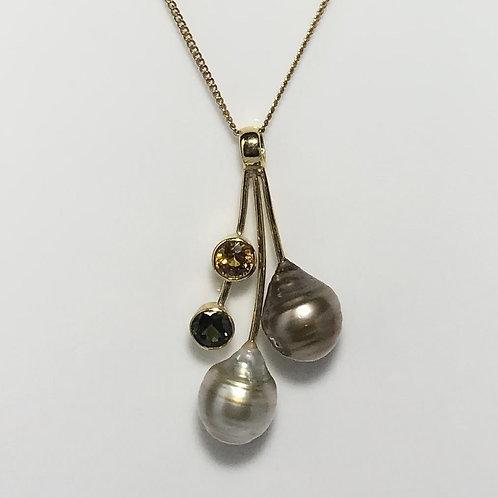 Fijian South Sea Pearl Pendant