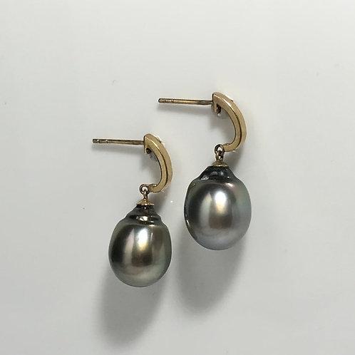 Tahitian South Sea Pearl Earrings