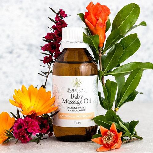 Massage Oil: Baby