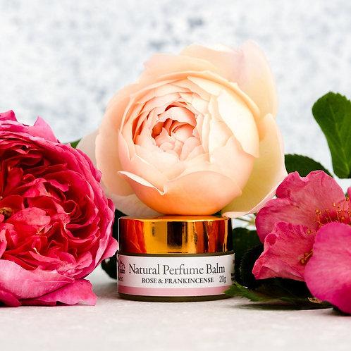 Natural Perfume Balm: Rose & Frankincense