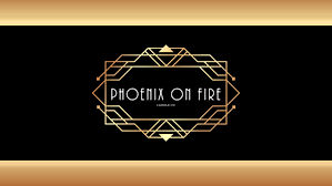 Phoenix on Fire Candle Co_