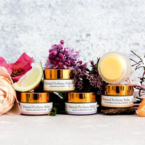 A luxurious indulgence gift set: Perfume balms