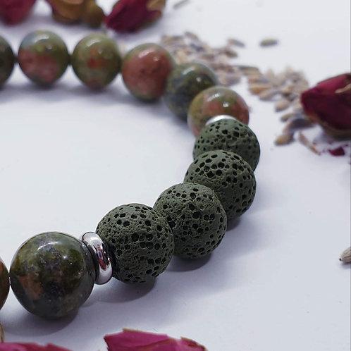 Epidote Diffuser Bracelet