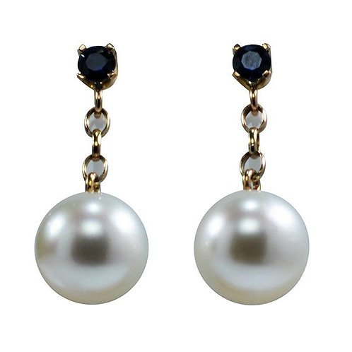Australian South sea pearl earrings