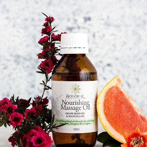 Massage Oil: Nourishing