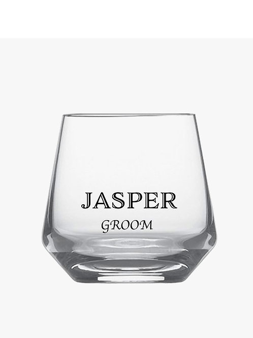 DIY Men's Whisky Glass Decals