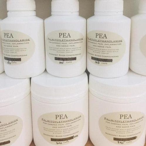 Capsules: PEA (Palmitoyethanolamide) 300 mg capsules