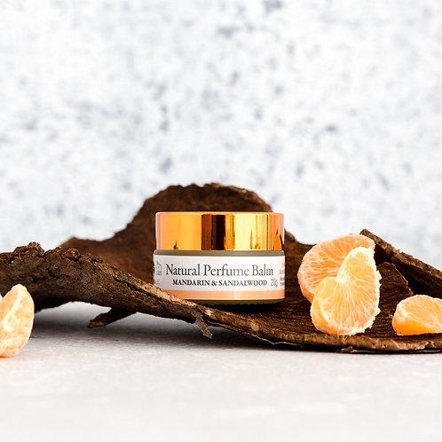 Natural Perfume Balm: Mandarin & Sandalwood