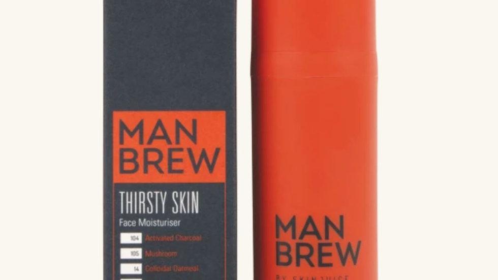 Man Brew Thirsty Skin - Face moisturiser