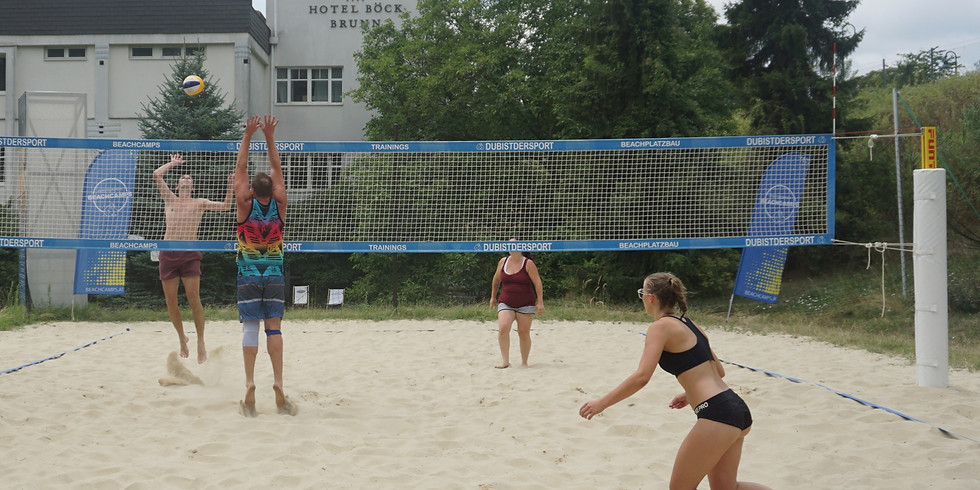 Mixed Beachvolleyball Sommertraining Montag - 100 Tage Sommer