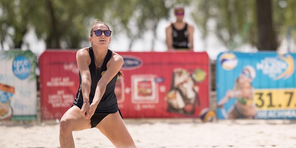 Damen Beachvolleyball Turnier @ Surf Worldcup Neusiedler See 2020