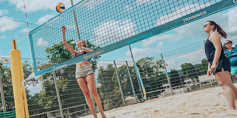 Beachvolley Workshop @ Postsportplatz 22. August
