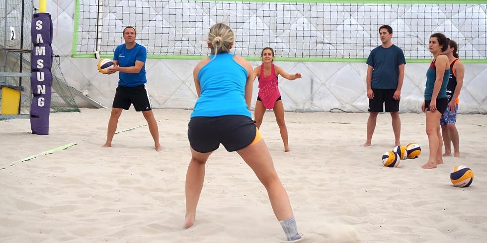 AUSGEBUCHT - Indoor Beachvolley Workshop Rannersdorf 14. März