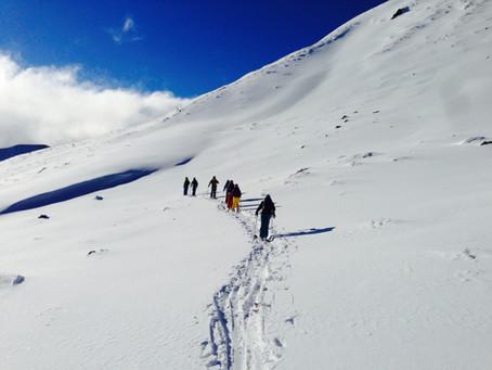 Skitouren und Wandern als Vorbereitung für den Sommer