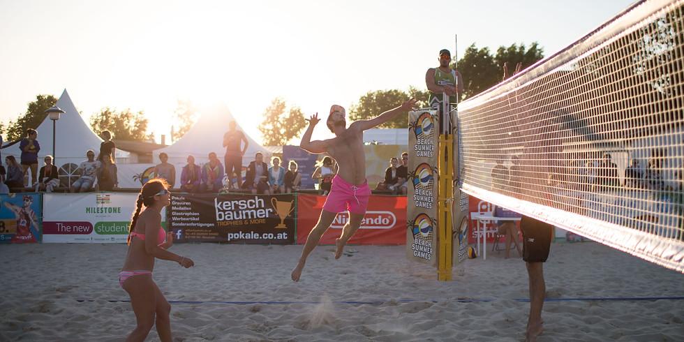 Beachvolleyball Hobby Mixed Turnier @ Surf Worldcup Neusiedler See 2020