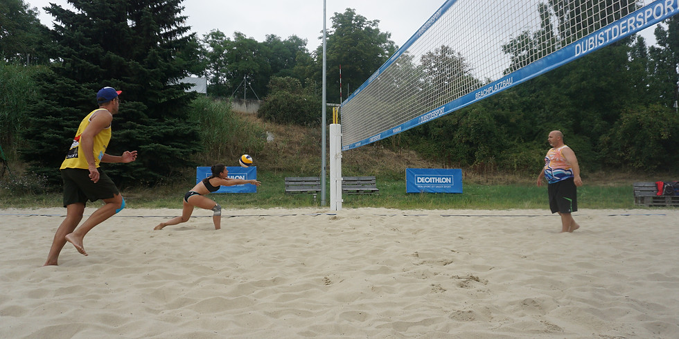 Mixed Beachvolleyball Sommertraining Mittwoch - 100 Tage Sommer