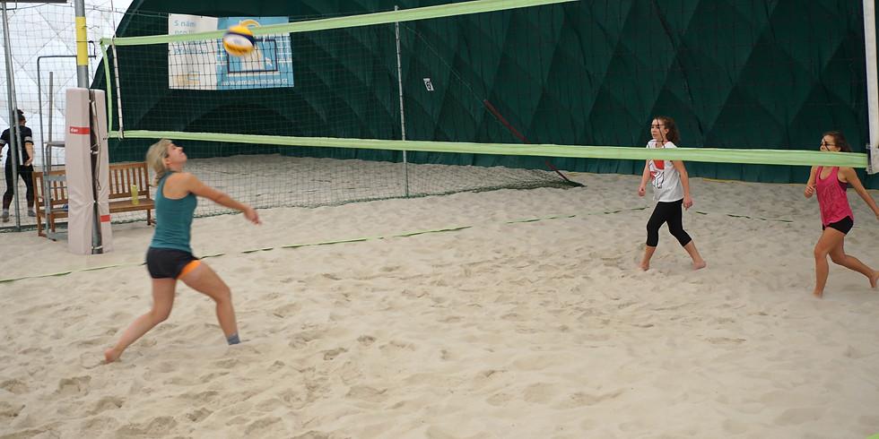 2. Durchgang Mixed Beachvolleyball Wintertraining - Tennisweber Rannersdorf