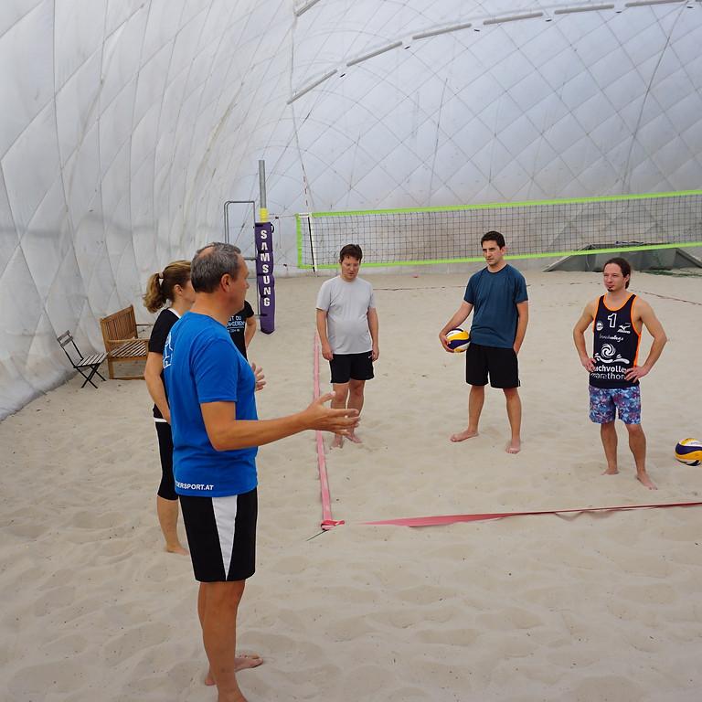 Indoor Beachvolley Workshop Rannersdorf 15. Februar
