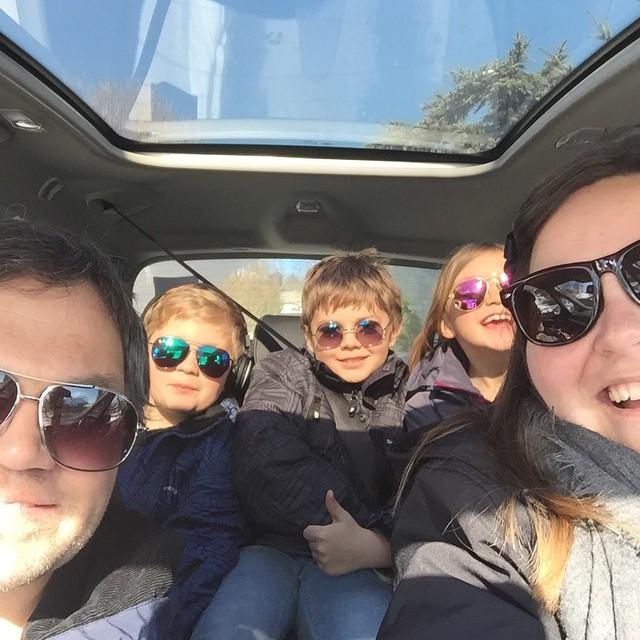 Familien VU på roadtrip til København!