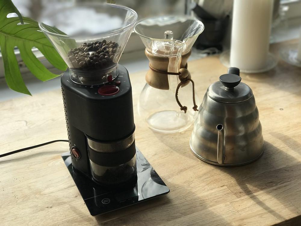 Chemex-kaffe slik gjør du det