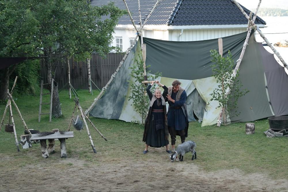 Bøllene Unni fra Ursvik og Sindre fra Sunnås vil slakte geita fordi den er schtøgg