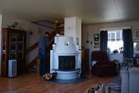 Oppussing av hus; Stue og spisestue – oppdatert!