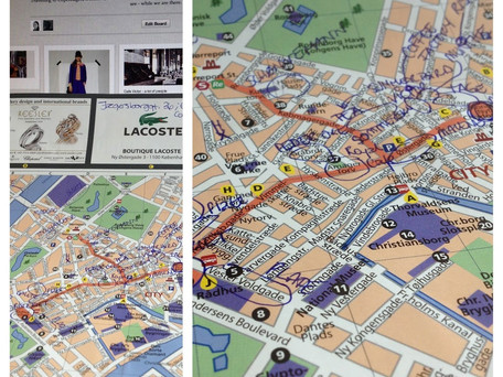 Pinterest + kart = Københavnkjærlighet ♥