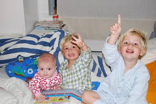 Lukas, lille storebror blir 3 år!