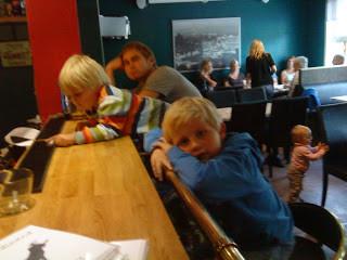 Spontan middag på pub