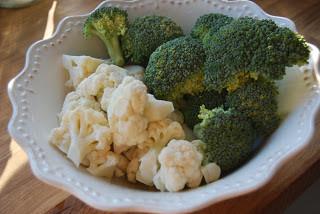Blomkål- og brokkolisuppe