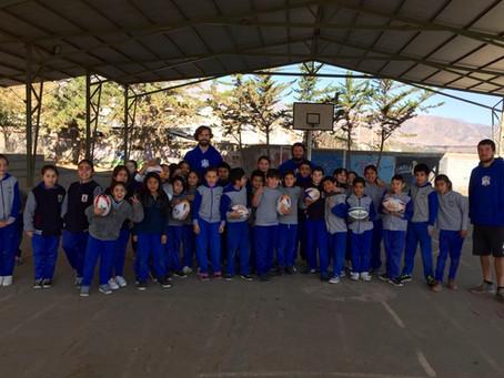 Comienza la temporada 2019 de la escuela de rugby de Carneros.