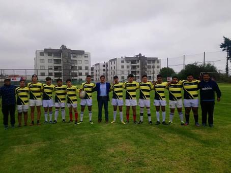 Carneros RC Juvenil comenzó el año con su primer amistoso jugado en el impecable recinto del Mindep.
