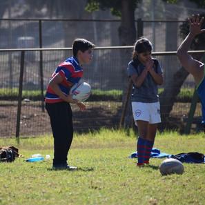 """""""La Escuela de Rugby de Carneros no para en sus entrenamientos"""""""