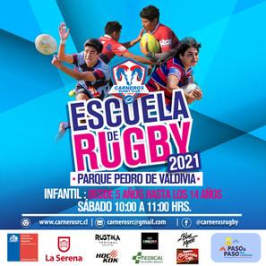 El Rugby vuelve con la Escuela Carneros