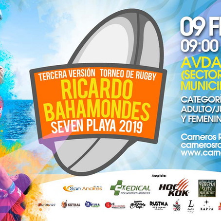 Se aproxima el Tercer Torneo de Rugby Ricardo Bahamondes 2019