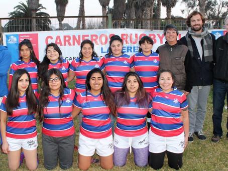 Categoría Femenina de Carneros viaja al complejo deportivo municipal de Pirque en Santiago.