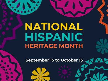 Hispanic Heritage Month Tech Integration