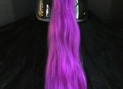 """Purple Helmet Ponytail 24"""""""