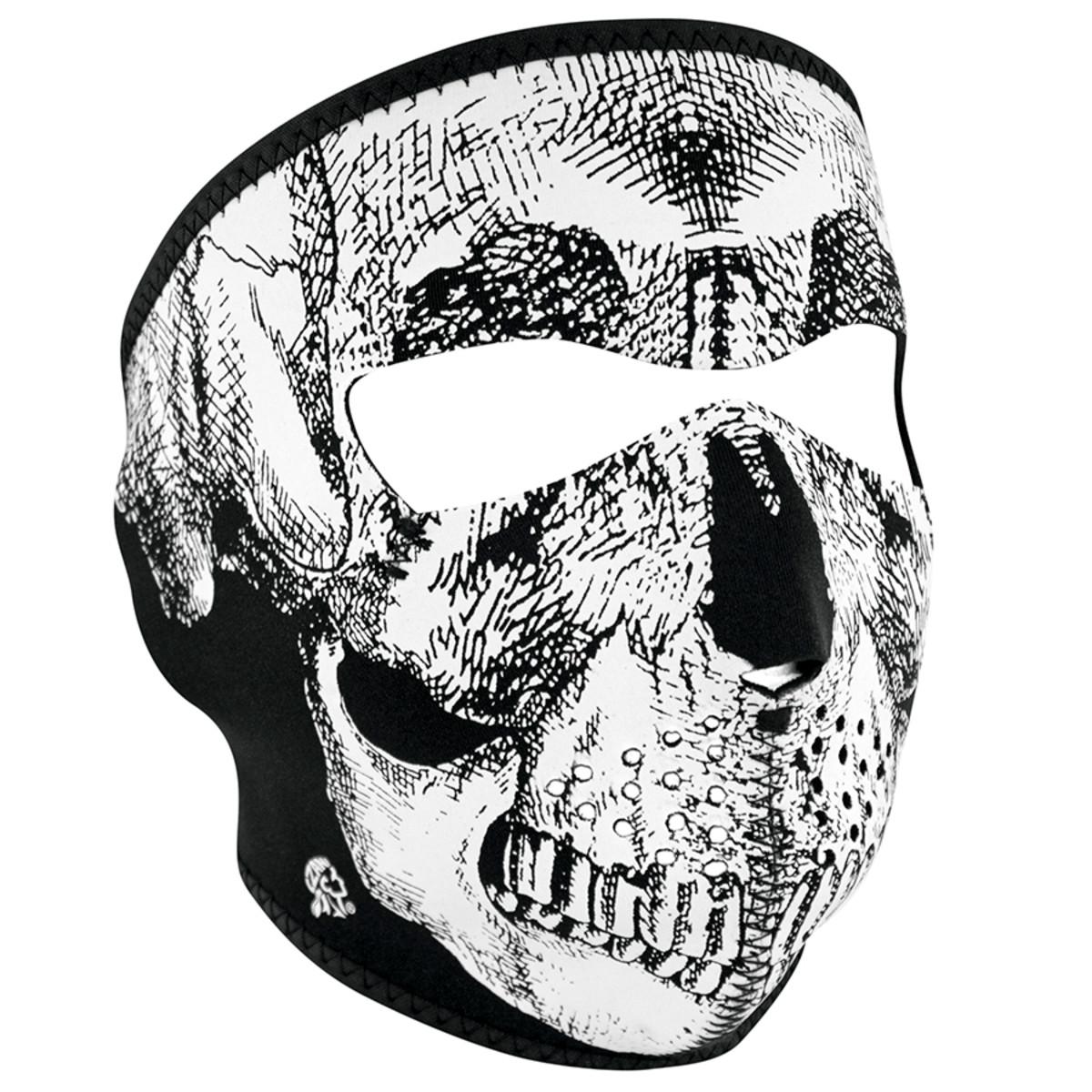Neprene Face Mask /  Skull