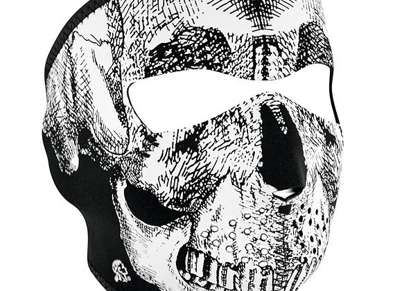 Face Mask Neoprene ( Skull )( Full )