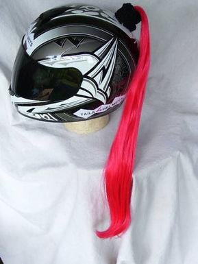 "Red Helmet Ponytail 24"""
