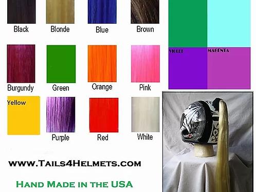 Helmet Ponytails  /  12 Colors