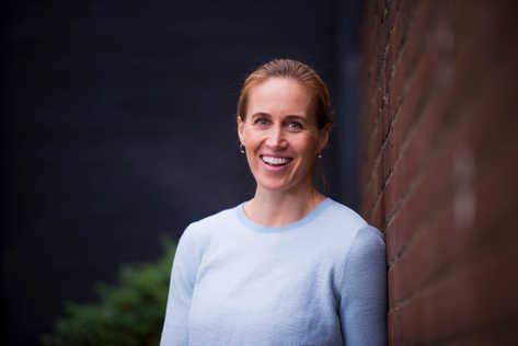 Double Olympic champion rower Helen Glover photographed in support of the charity Surfers Against Sewage. She was pictured in a cafe in Marlow, Bucks.