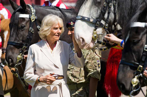 Duchess of Cornwall at The Royal Windsor Horse Show