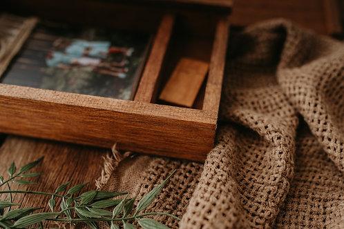 Timber USB + Print Box