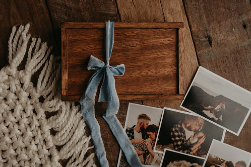 Rustic Timber 4 x 6 print + Usb Box